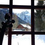 Un violoncelle en montagne