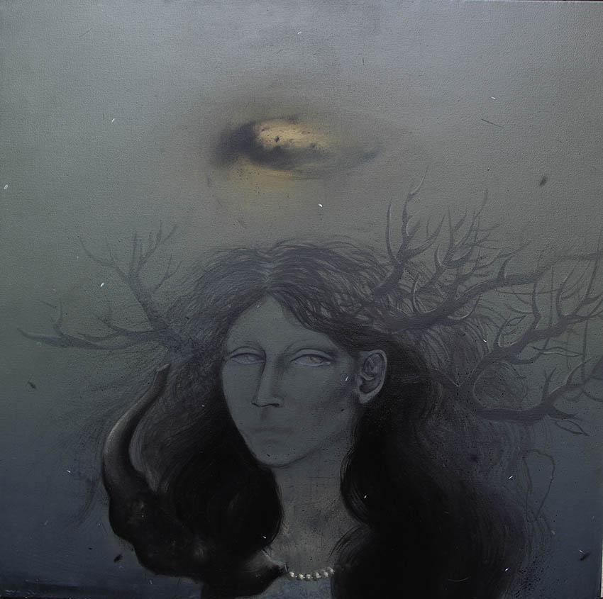 Acrylic on canvas/ 70 * 70 cm / 2013  / SOLD