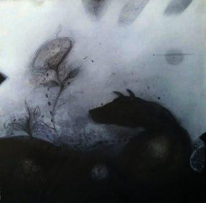 Acrylic on canvas/ 100 * 100 cm /2010