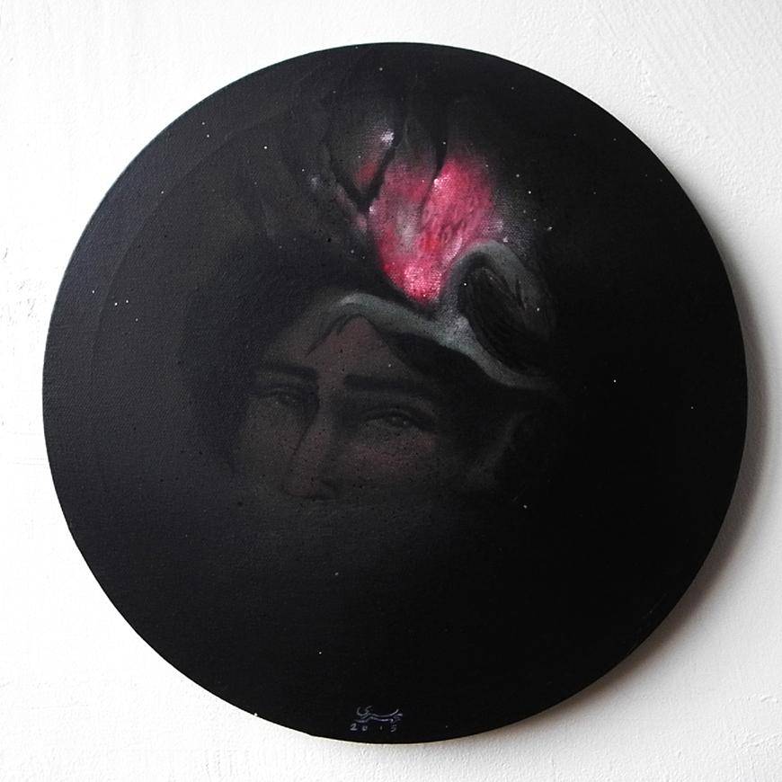 Acrylic on canvas/ 30 * 30 cm /2015