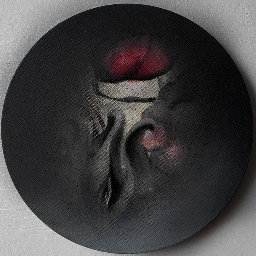 Acrylic on canvas/ 20 * 20 cm /2015