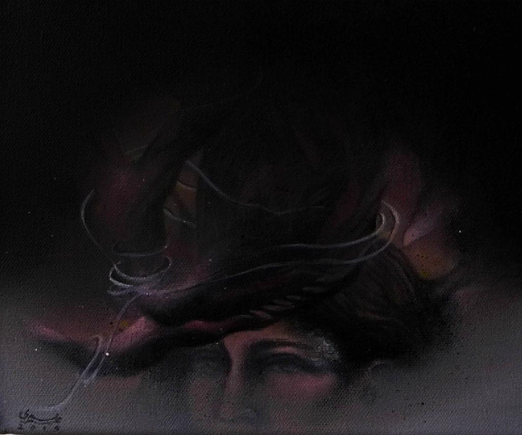 Acrylic on canvas/ 20 * 17 cm /2015