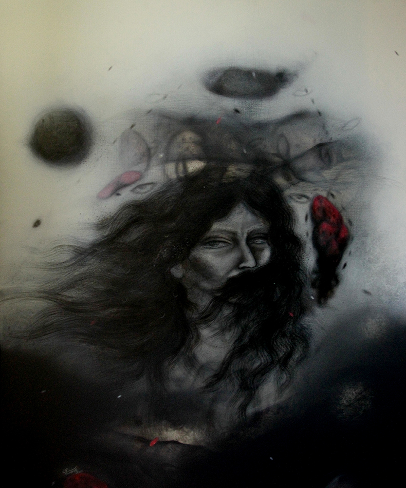 Acrylic on canvas/ 120 * 100 cm /2012