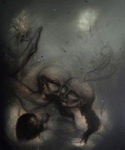 Acrylic on canvas/ 120 * 100 cm /2012