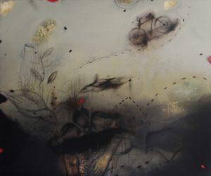 Acrylic on canvas/ 120 * 100 cm /2013
