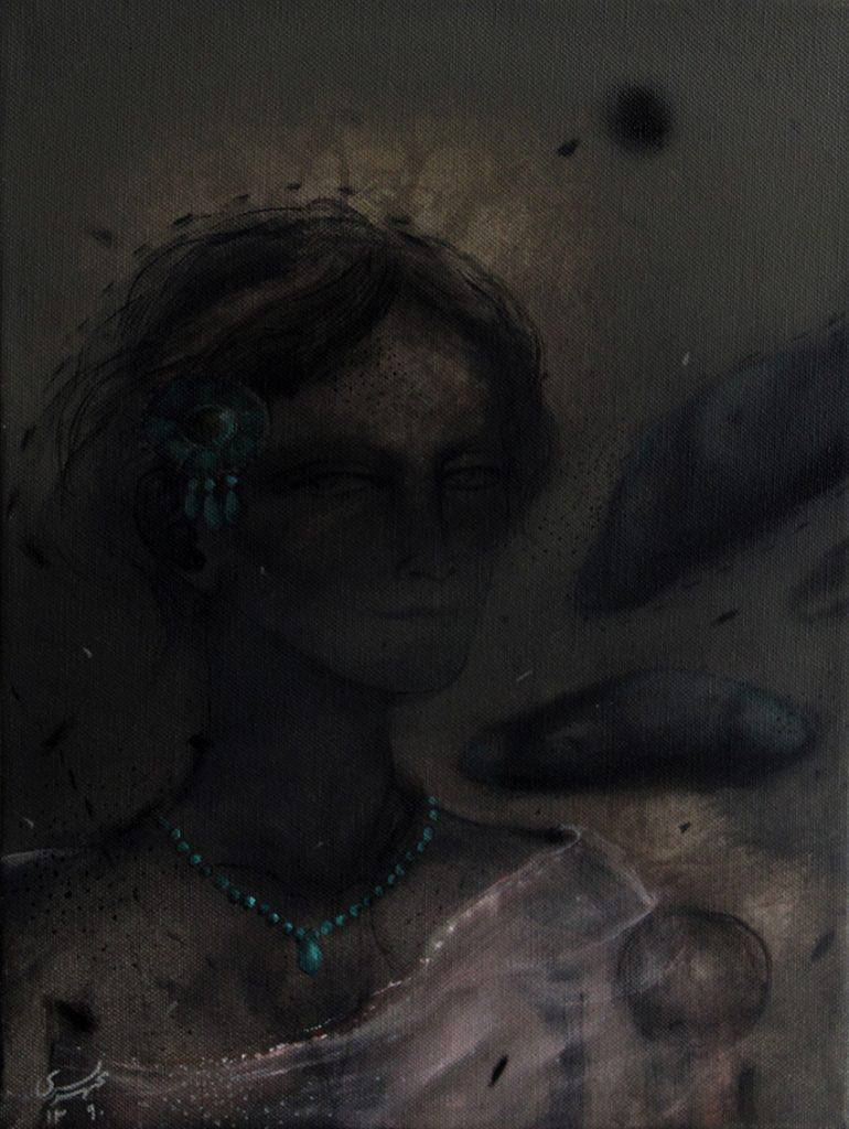 Acrylic on canvas/ 40 * 30 cm /2013
