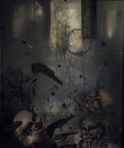 Acrylic on canvas/ 120 * 100 cm /2011
