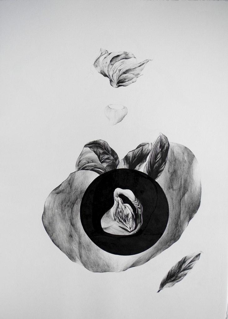 Encre sur papier/ 76 * 56 cm